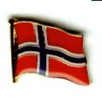 Norwegen Flagge / Fahnen Pin